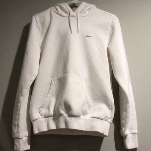 Nike Ladies Pullover White Hoodie Size M